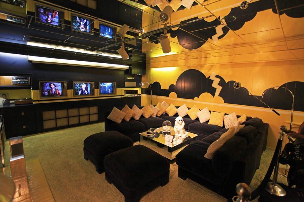 The TV Lounge Graceland in Memphis, TN