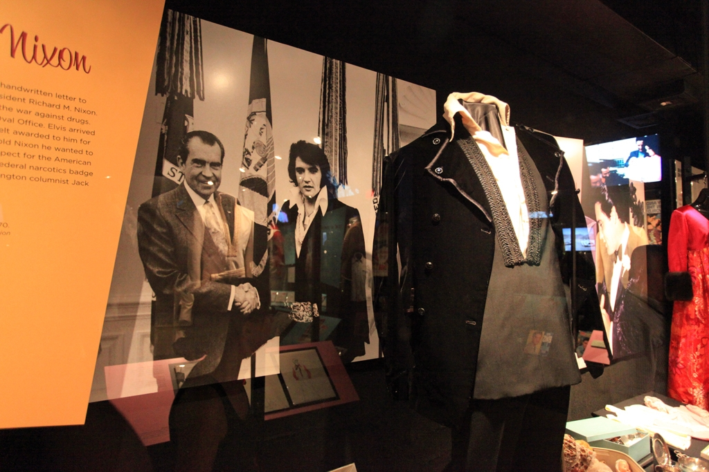 50 States Or Less The Suit From The Nixon Elvis Meeting