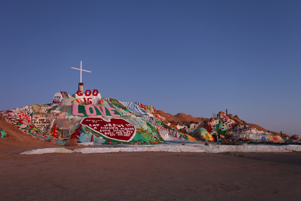 50 States Or Less Salvation Mountain Niland Ca
