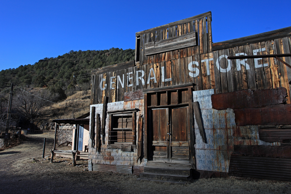 The First Ghost Town
